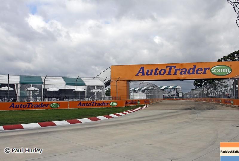 June 2: The AutoTrader.com bridge during the Chevrolet Detroit Belle Isle Grand Prix.