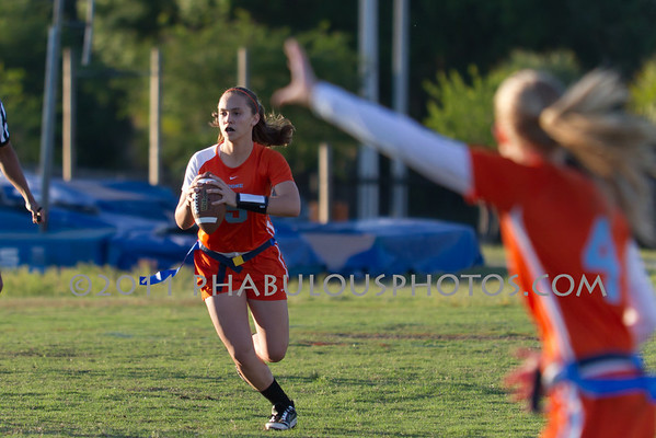 University @ Boone Girls Flag Football - 2011