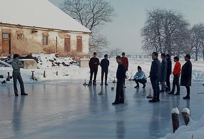 Eisschiessen 1971/72 Nunner Teich