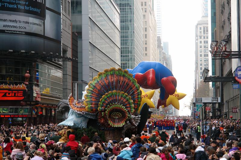 BIG TURKEY Macy's Thanksgiving Parade 2009 in Manhattan