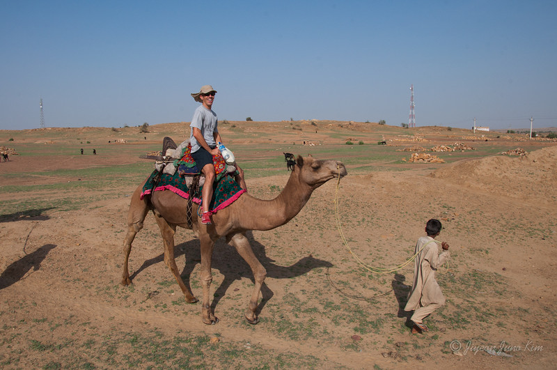 Michael at Thar Desert