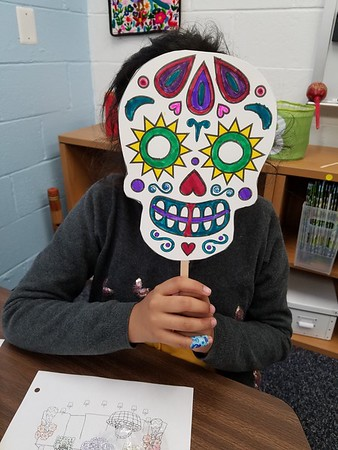 Third Graders Go Mask-erading In Spanish Class