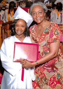 20110613 Dominique's 8th grade Graduation from John W. Cook School