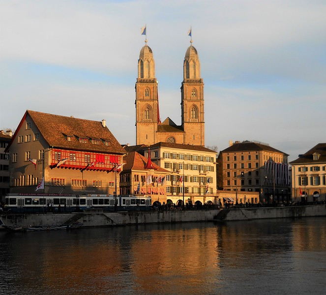 Grossmunster  Church - Zurich