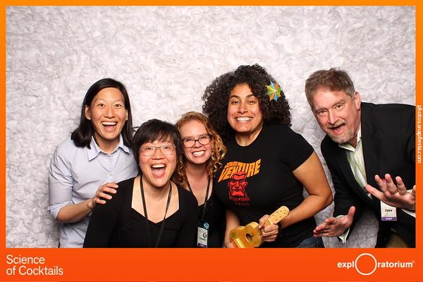 Science of Cocktails @ The Exploratorium - Photobooth -  2.6.20