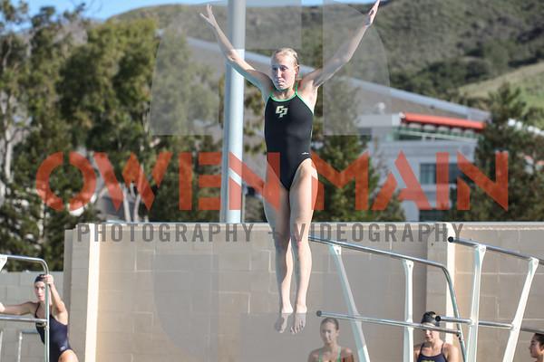 Cal Poly SwimDive Vs. UCSD 01122019
