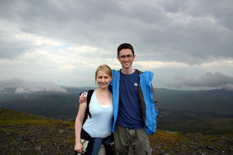 The summit of Skiddaw.