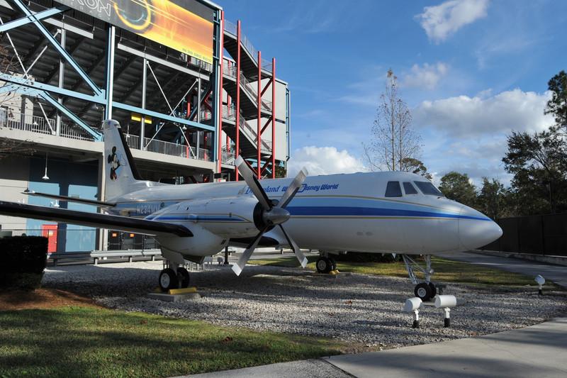 Walt Disney's Plane - N234MM
