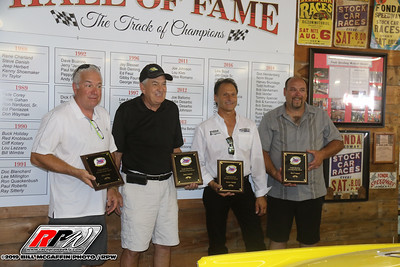 Fonda Speedway-Hall of Fame induction ceremonies-Bill McGaffin--7/20/19
