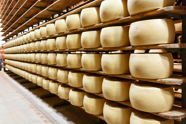 9/21/2015 - Modena - Parmesan Factory - Prosciutto Factory - Pagani Factory - Ferrari Museum