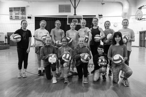 2018-3-24 HYA Girls 3rd-4th grade Volleyball