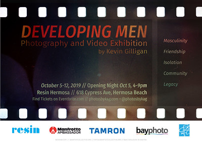 Developing Men Exhibition Opening 10/5/19