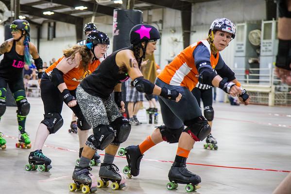 09-17-16 Lafayette Brawlin Dolls vs. Bone City Rollers