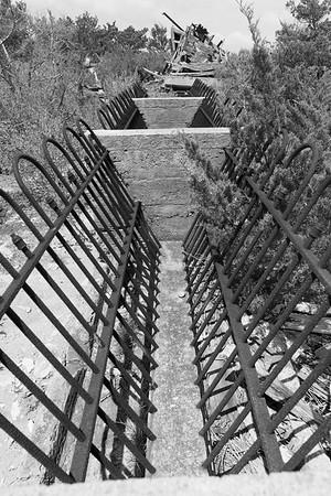 Feed trough on Cushman property, Mockhorn Island, VA.  © 2020 Kenneth R. Sheide
