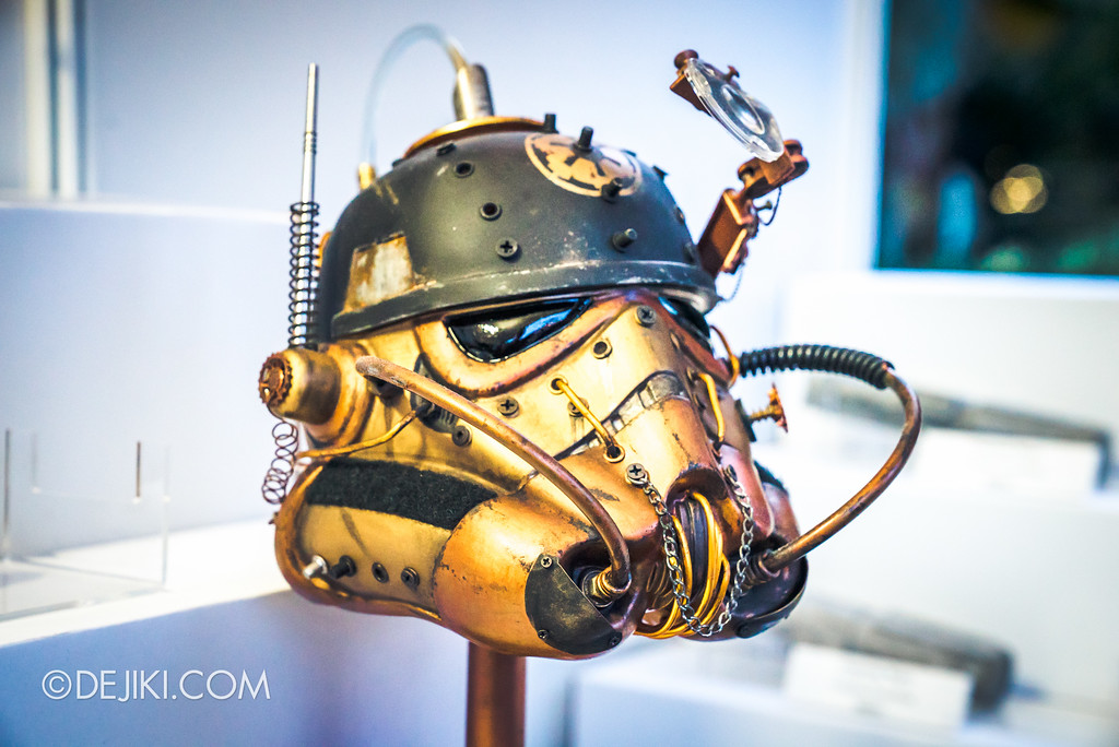 Gardens by the Bay - Star Wars Day 2017 - Fan Art Exhibition close-up steampunk