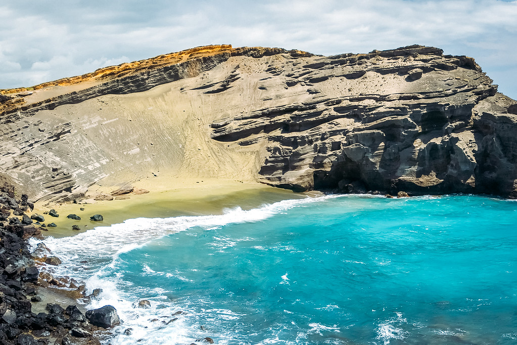 Papakolea Beach Big Island