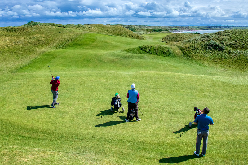 Bernie Playing Ballybunion's Famous 11th Hole.jpg