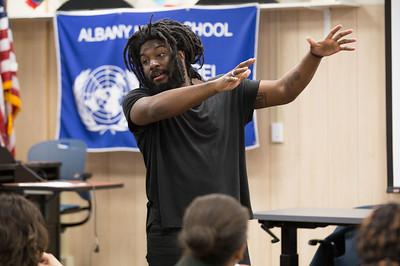 2015 Jason Reynolds at Albany High School