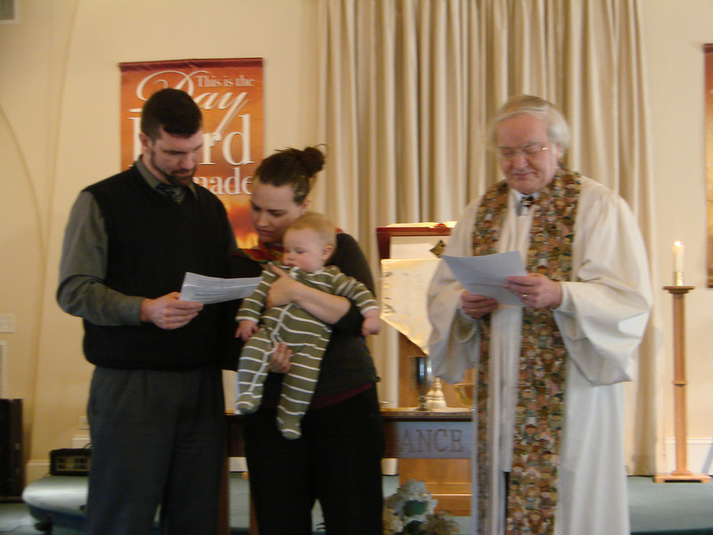 Dedication and Christening of Henry Brinson Newsome
