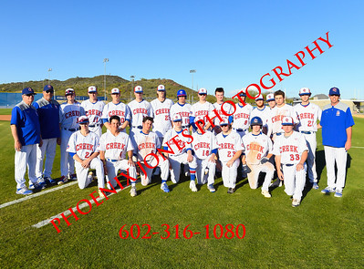 3-18-19 - Cherry Creek @ O'Connor (Coach Bob Invitational) Baseball