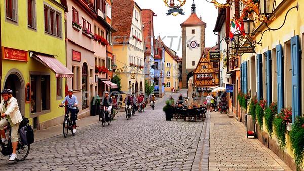 Rothenburg. Germany, for three amazing days