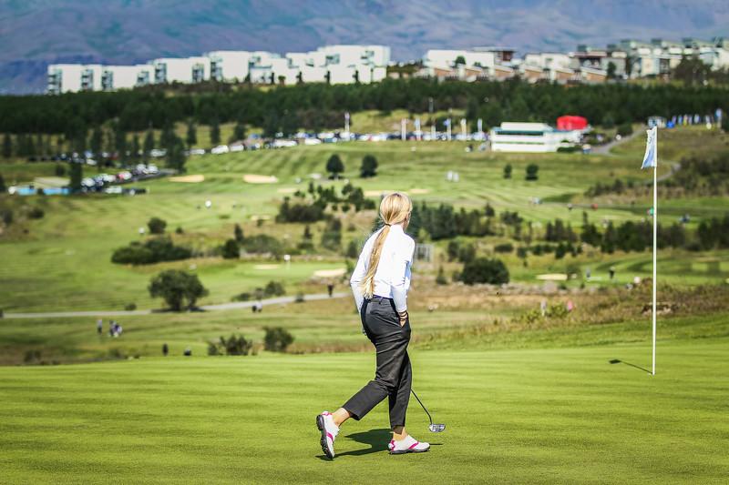 GR, Perla Sól Sigurbrandsdóttir Íslandsmót í golfi 2019 - Grafarholt 2. keppnisdagur Mynd: seth@golf.is