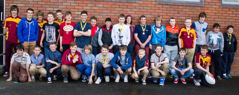 Netherhall Rubgy Club Presentation 2013