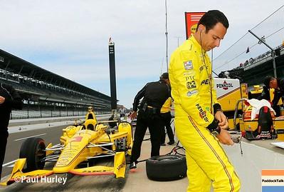 2016 IndyCar - Indianapolis 500 Practice