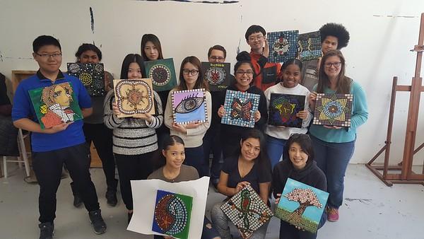 Project Week - Mosaic Art & Screen Printing