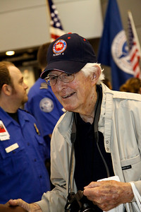 Honor Flight 4 Part 2 Bush Airport