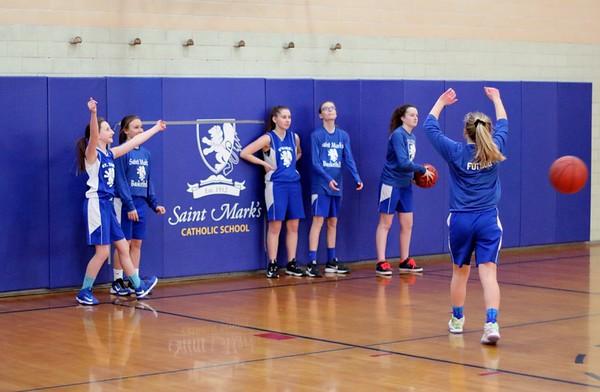 Saint Mark's Girls vs St. Odilia - Feb 8, 2017