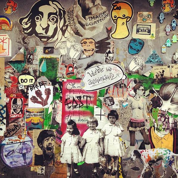 A new wall of ideas, Berlin #streetsplash