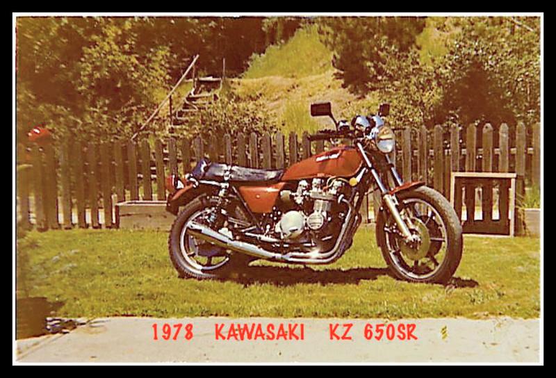 1978 KAWASAKI SR650