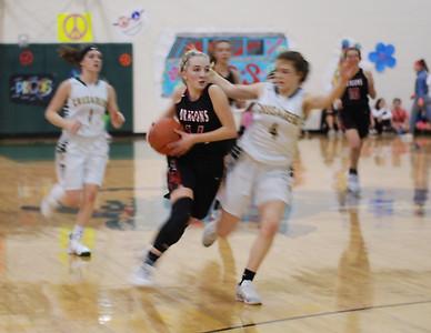 US Girls Basketball at NWC 1-18-19