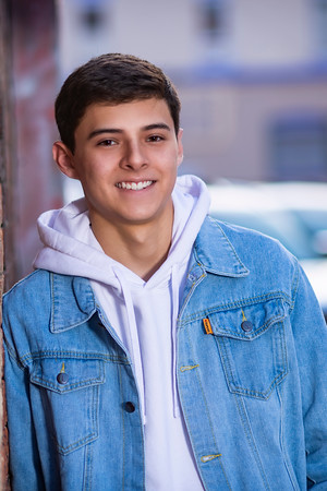 Andrew Aragon Senior Portrait THS 2022