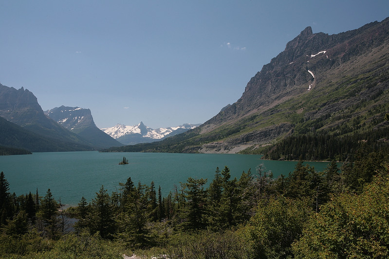 Glacier National Park. St Mary Lake