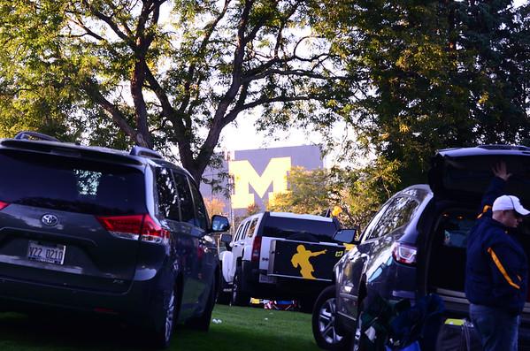 Michigan vs Penn St 2014