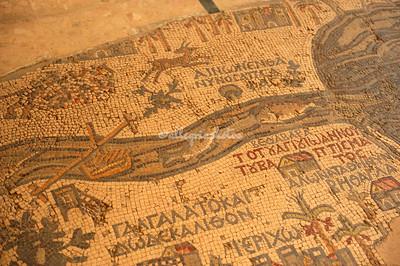 Madaba and the Dead Sea, Jordan