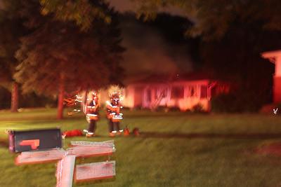 Wood Dale Box alarm fire 6-1-2010