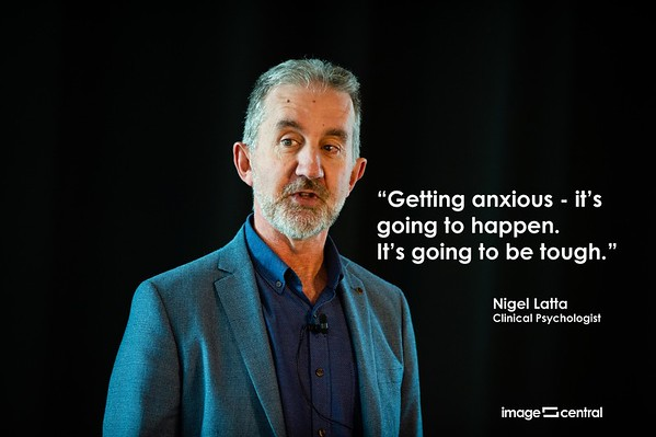 Nigel Latta - On Anxiety.  The NEW 'normal'.  2 April 2020.