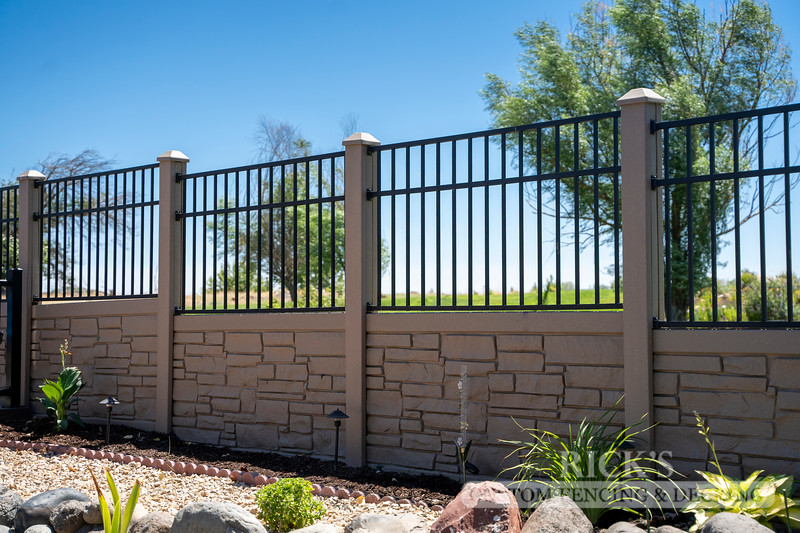 4042 - Allegheny Simulated Rock Fencing