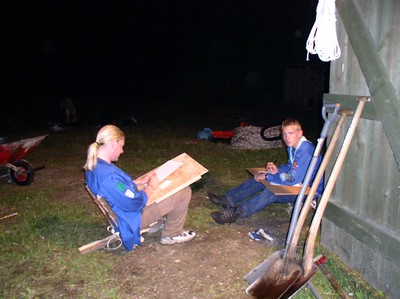 BP-lejr