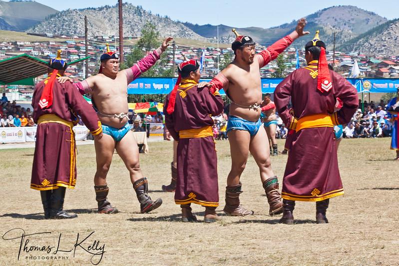 Annual Naadam Festival in Tsetserleg. Mongolia.