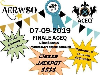 Championnat Régional de L'estrie et de la montérégie ACEQ /EXCA