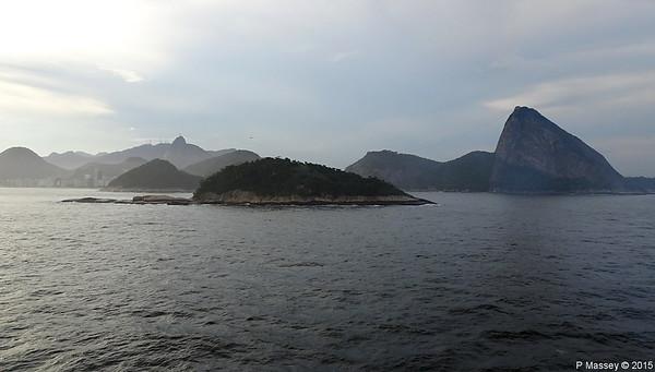 Rio de Janeiro Departure 9 Dec 2015