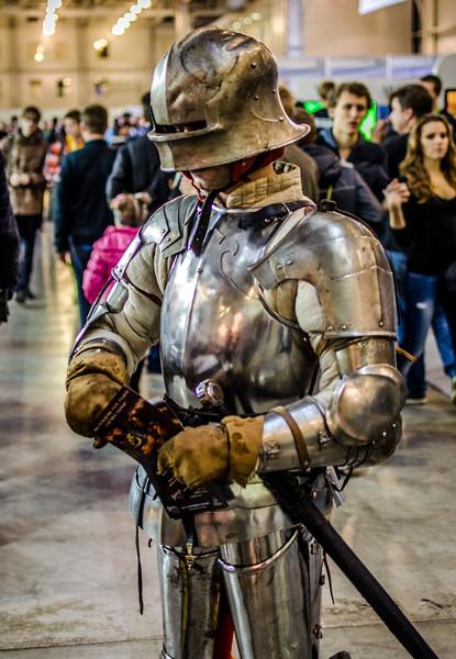 Knight at Igromir 2012