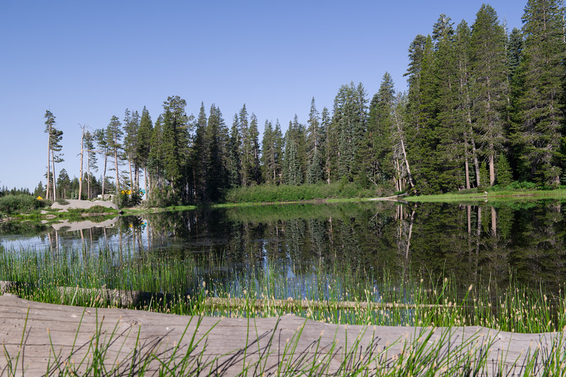 Reflections Of Donner Summit Pond