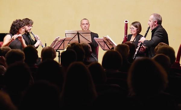 Quintetto fiati - Accademia di Musica, Sala Concerti Patrizia Cerutti Bresso, Pinerolo 11 novembre 2014
