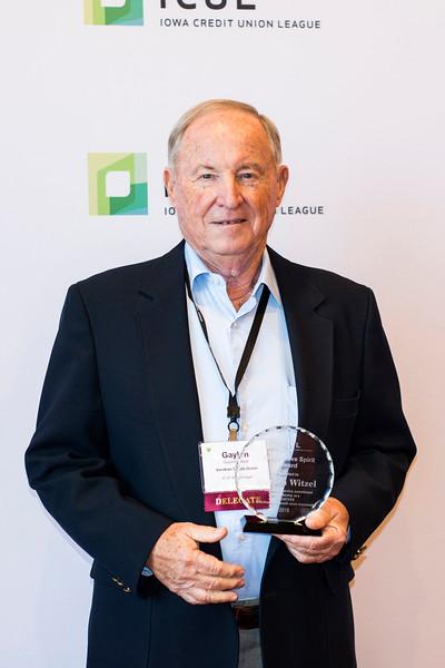 Gaylen Witzel, Cooperative Spirit Volunteer Award Winner