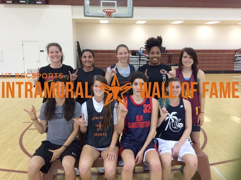 Spring 2017 Basketball Women's Runner Up_Melee